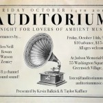 Auditorium October 14 Flyer 550px
